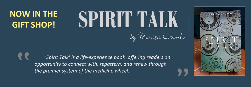 """Spirit Talk"" A book of Days, by Minisa Crumbo Halsey"